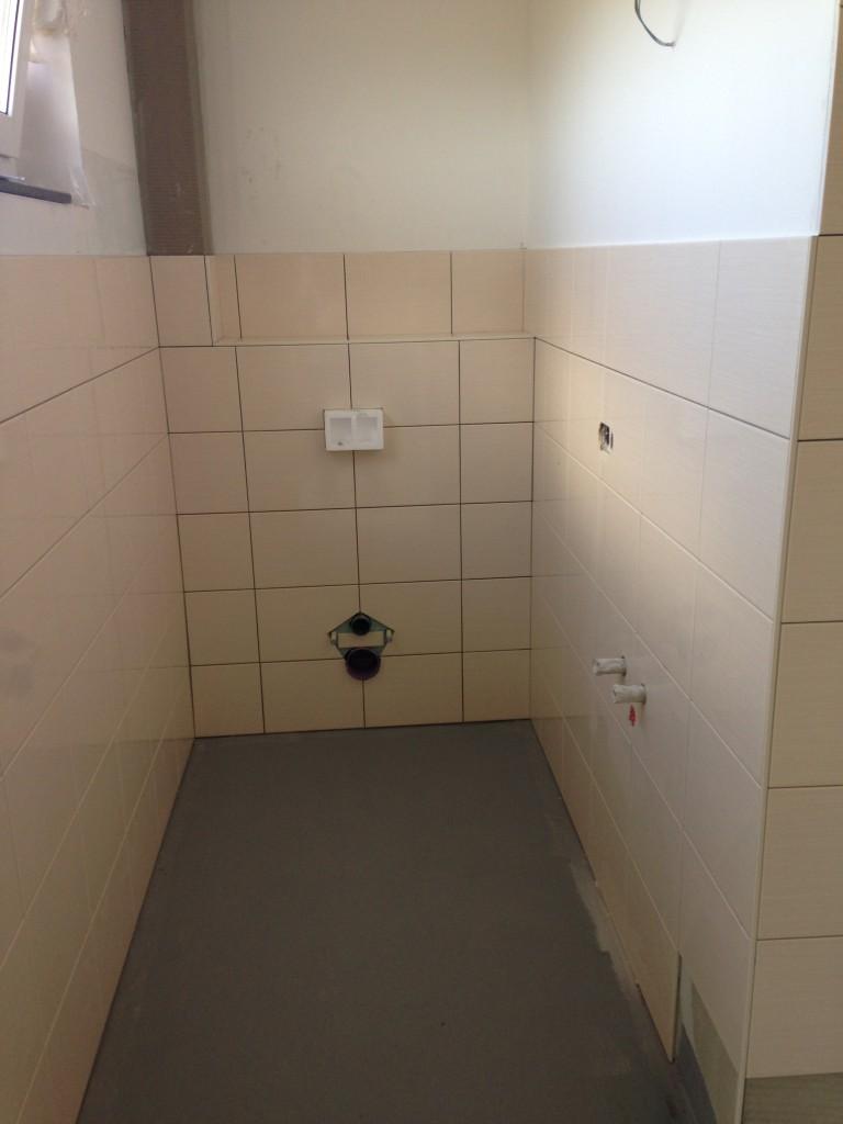 Wandfliesen Gäste-WC
